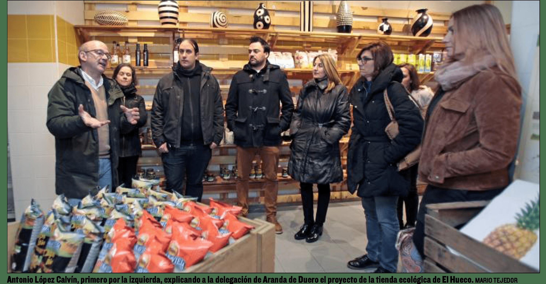 La Delegación de Aranda de Duero conoce Proyecto Arraigo.
