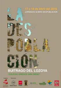 Lee más sobre el artículo JORNADAS SOBRE LA DESPOBLACIÓN EN BUITRAGO DEL LOZOYA